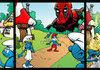 Deadpool Vs Smurfs